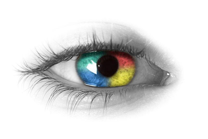 come vedono i daltonici